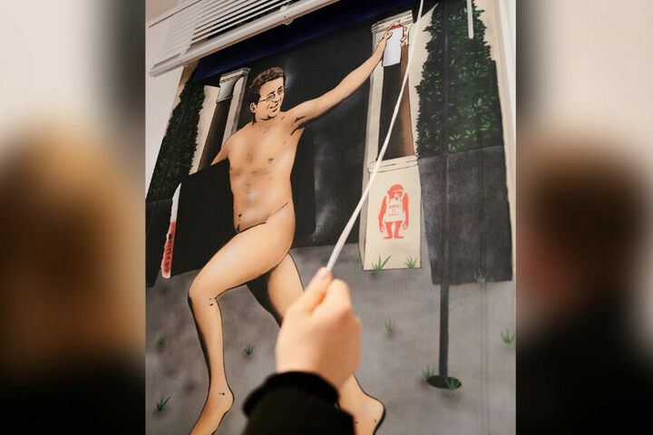 """Das Werk wird am Freitag in der Berliner Galerie """"Kultur Späti"""" veröffentlicht."""