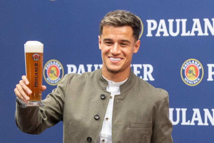 Fühlt sich hier pudelwohl: Philippe Coutinho findet das familiäre Verhältnis bei den Bayern besser, als in Liverpool.