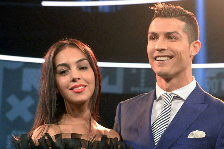 Cristiano Ronaldo und seine Freundin Georgina Rodriguez.