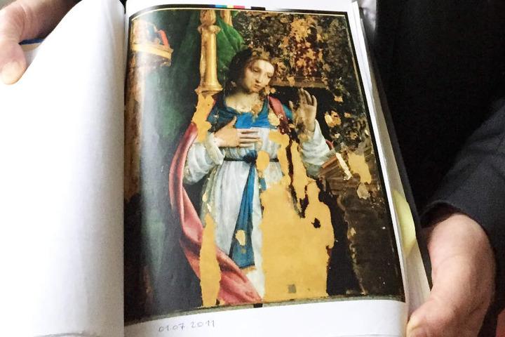 """Armin Hary und der Galerist streiten sich schon Jahre um das Gemälde """"Verkündigungsmadonna"""", das angeblich Leonardo da Vinci gemalt hat. (Archivbild)"""