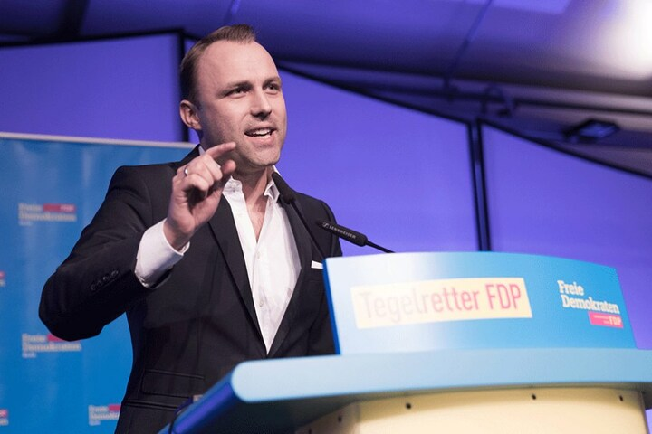 Der Initiator des Volksbegehrens Sebastian Czaja (33, FDP).