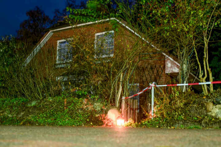 In diesem Haus fand der Mord an dem 85-jährigem Rentner statt.