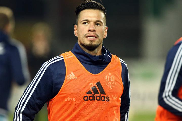 Cincotta fehlte beim Training am Dienstag, er soll aktuell in Holland sein.
