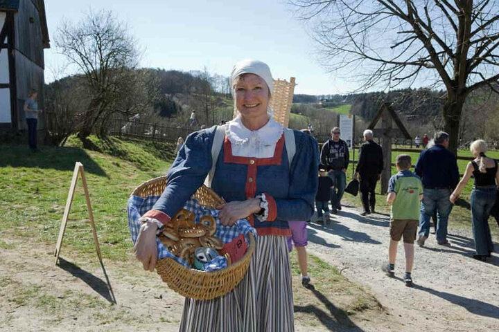 Brezeln in allen Variationen gibt es am Sonntag im LVR-Freilichmuseum Lindlar.
