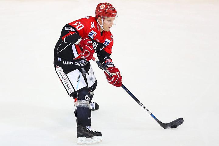 Mario Lamoureux stürmte vergangene Saison für Innsbruck. Wird er jetzt ein Eislöwen? Die Chancen stehen gut.