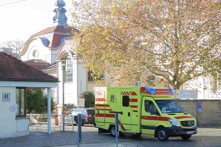 Sieben Mitarbeiter im Klinikum Friedrichstadt wurden positiv auf Tuberkulose getestet.