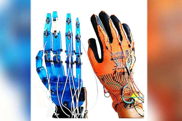 Platz drei ging an ein intelligentes Hand-Rehabilitations-System.