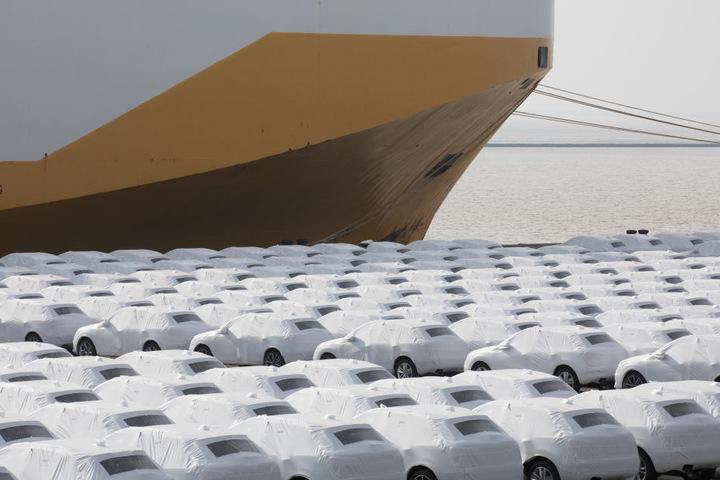 Fahrzeuge und Fahrzeugteile machen 40 Prozent alles bayerischen Exporte in die USA aus. (Archivbild)