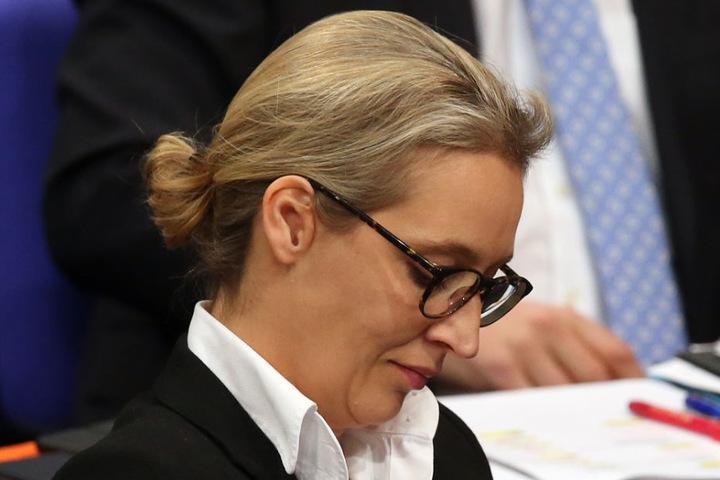 Alice Weidel ist im Bundestag Fraktionschefin der AfD.