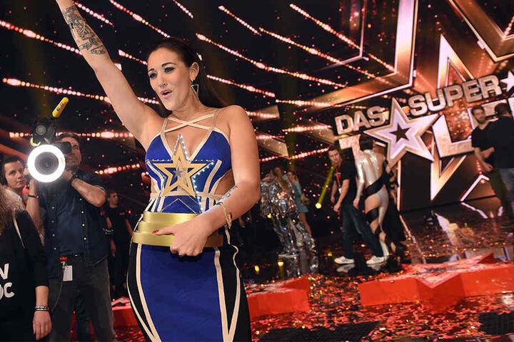 """Die Sängerin Angel Flukes gewann die letzte Staffeln von """"Das Supertalent""""."""