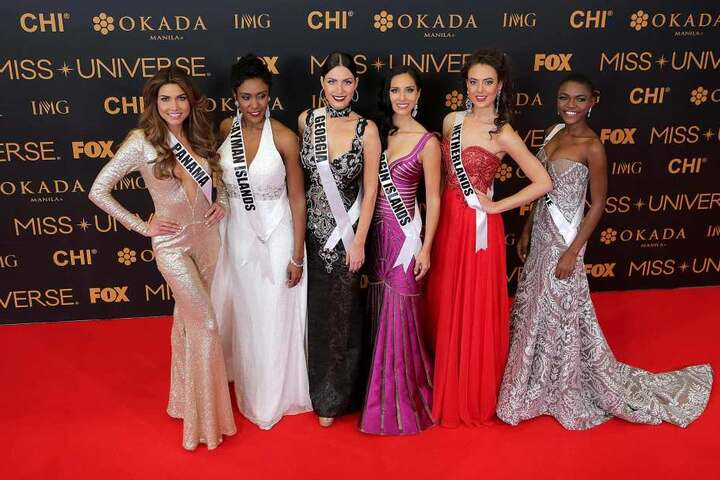 Insgesamt nahmen 86 Frauen an der Miss Universe-Wahl teil.