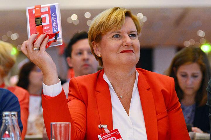 Die Bundestagsabgeordnete Eva Högl (SPD) nimmt an der Vertreterversammlung SPD Berlin zur Wahl der Landesliste für die Bundestagswahl teil.