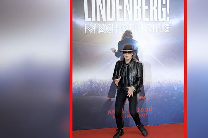 """Udo Lindenberg (73) feiert mit seinem autobiografischen Film """"Lindenberg! Mach dein Ding!"""" in Leipzig Premiere."""