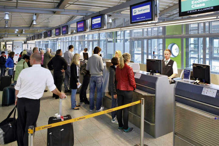 Die Passagierzahlen am Flughafen steigen wieder.