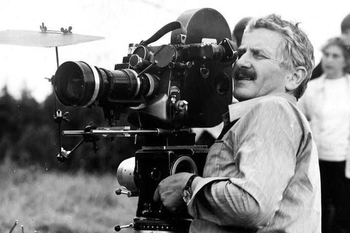Und Action! Herrmann Zschoche in jüngeren Jahren an seinem liebsten Ort: hinter der Kamera.