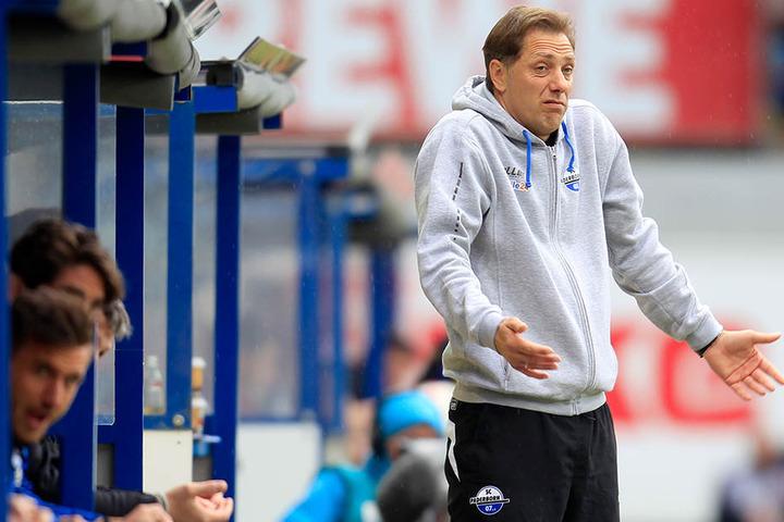 Er soll den Negativtrend stoppen: SCP-Trainer René Müller.