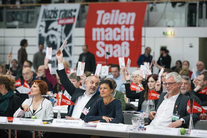 Beim Landesparteitag in Glauchau stimmten 84, 8 Prozent für die Bundesvorsitzende aus Dresden.