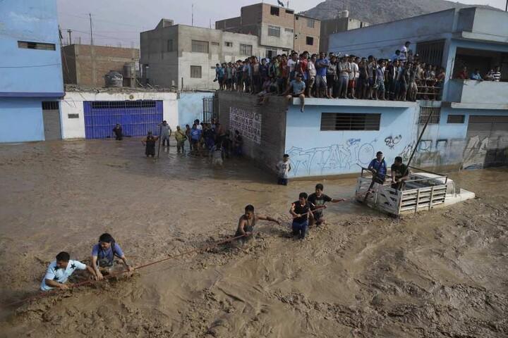 Seit Dezember anhaltende Regenfälle führten bereits zu zahlreichen Erdrutschen und Überschwemmungen.