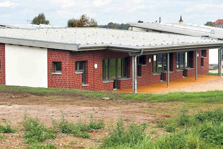 Für 1,2 Millionen Euro wurde das Betreuungszentrum für Behinderte in Hartha gebaut. Es steht für unbestimmte  Zeit leer.
