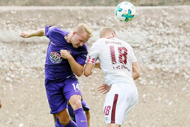 Pascal Köpke schraubte sich gegen Nürnberg hoch und erzielte das 3:0. In Ingolstadt besorgte er das 1:0.