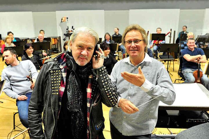 Stefan Fraas, Chef der Vogtland Philharmonie, ist begeistert.