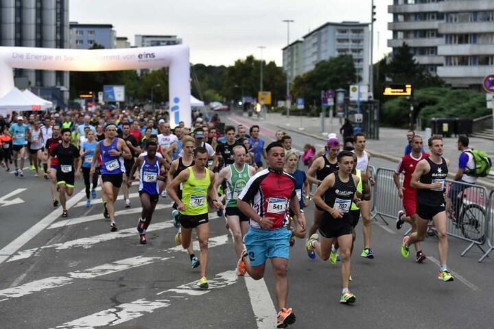 Knapp 500 Teilnehmer starteten beim 1. Chemnitzer Citylauf (ICC).