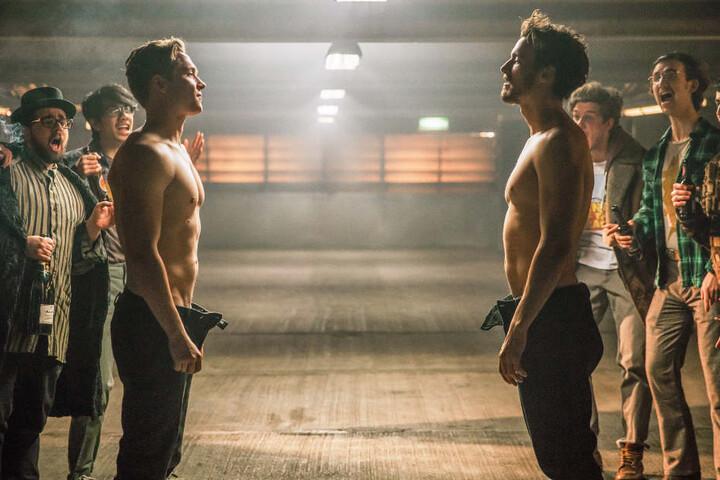 """Schweighöfer und Fitz in einer Filmszene von """"100 Dinge"""""""