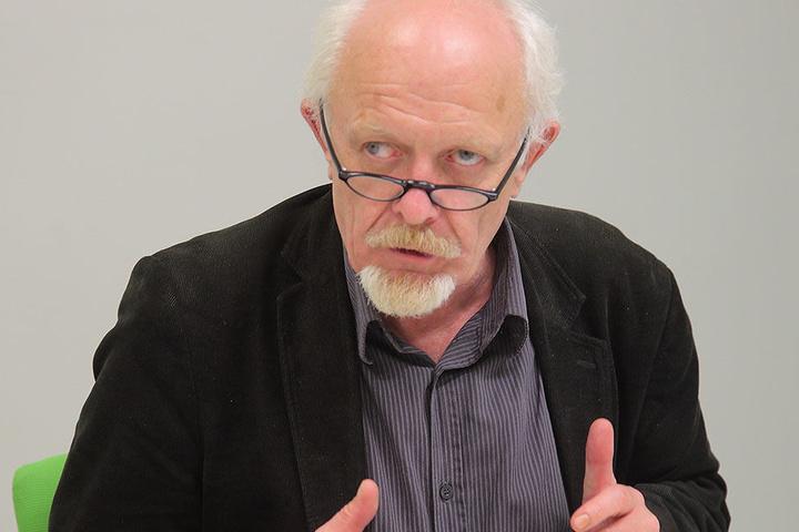 """""""Wir werden zu einem Ergebnis kommen"""", sagt Grünen-Stadtrat Michael Schmelich (63)."""