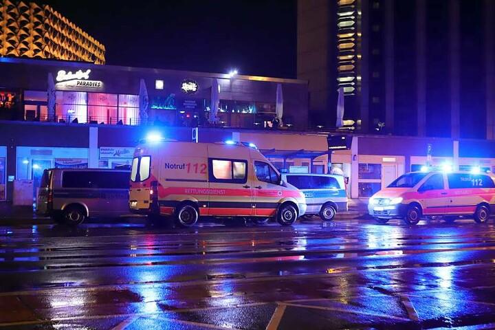 Polizei und Rettungskräfte waren vor Ort.