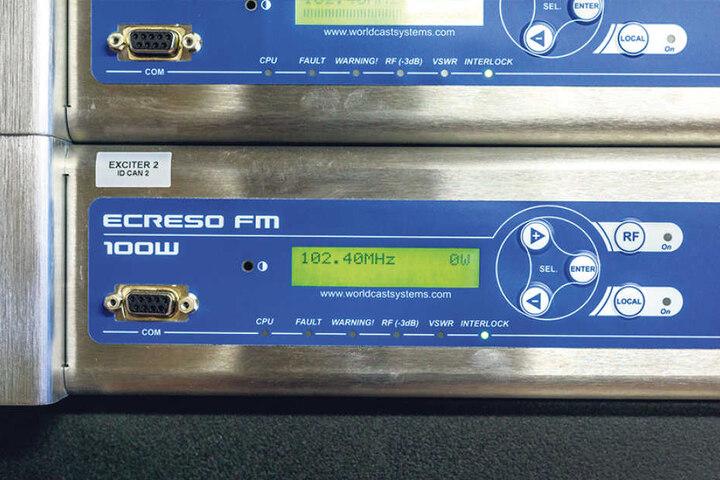 102.40 MHz ist die UKW-Sendefrequenz von Radio PSR in Dresden.