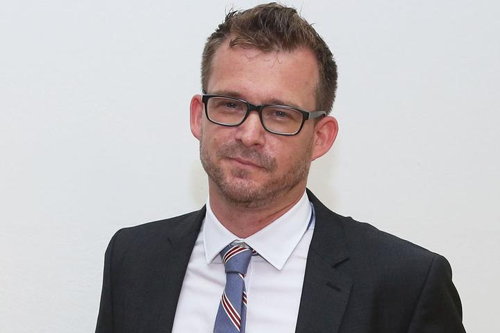 Baubürgermeister Raoul Schmidt-Lamontain (39,Grüne) ist für das Radverkehrskonzept verantwortlich.
