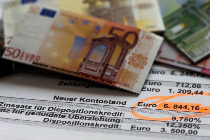 In Bayern sind deutschlandweit prozentual die wenigsten Bürger von Überschuldung betroffen.