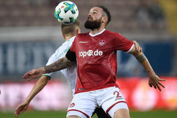 Giuliano Modica ist nun für Kaiserslautern am Ball.