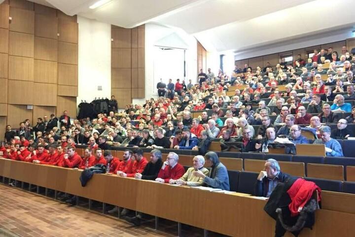 Bei der Mitgliederversammlung am Sonntag informierte der Verein über die Finanzsituation.