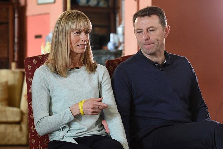 Kate und Gerry McCann gaben 2017 in britischen Loughborough dem Fernsehsender BBC TV ein Interview zu dem Fall.