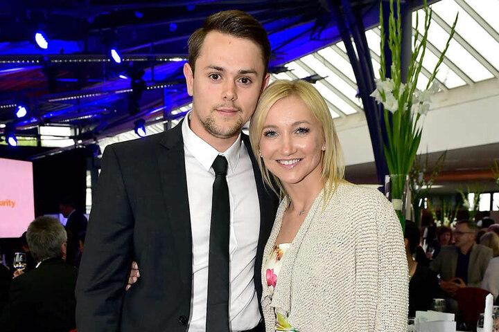 Aljona Savchenko und ihr Mann Liam Cross.