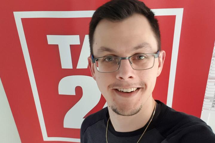 TAG24-Redakteur David Frey.