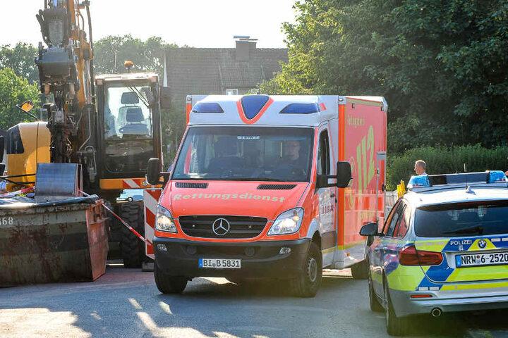Mit mehreren Rettungswagen wurden Verletzte in umliegende Krankenhäuser gebracht.