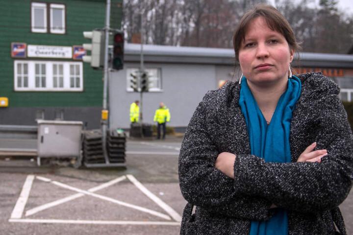Melanie Gottwald (35) hatte sich bereits an das Mittelthüringische Straßenbauamt gewandt. Passiert ist seitdem nichts.
