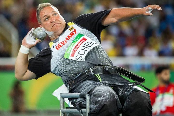 Voll konzentriert: Daniel Scheil bei seinem Sieg-Stoss in Rio.