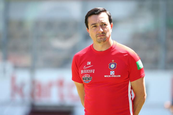 FCE-Coach Daniel Meyer fordert viel von seinen jungen Leuten, auch vom 21-jährigen Hikmet Ciftci.