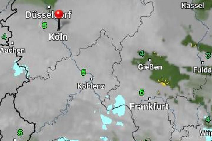 Das Wetter in NRW wird sonnig und milder.