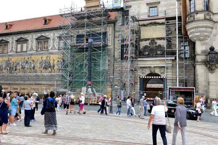 Das wiederaufgebaute Residenzschloss. Bis 2021 könnte es fertig sein.