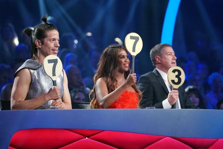 Die Jury: Jorge Gonzalez (l.), Motsi Mabuse und Joachim Llambi.