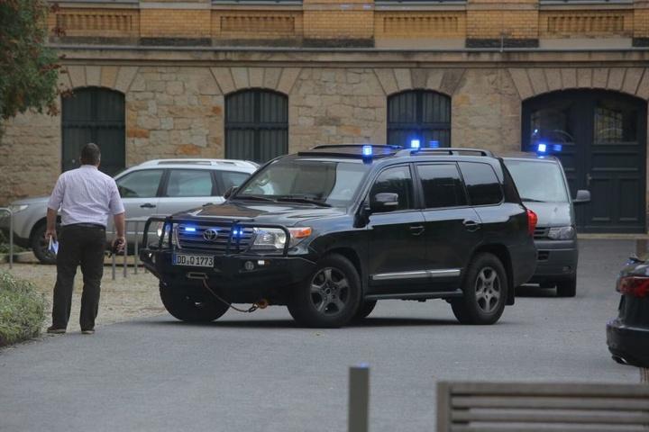 Jaber Albakr wurde am Montagmittag in Dresden einem Richter vorgeführt.