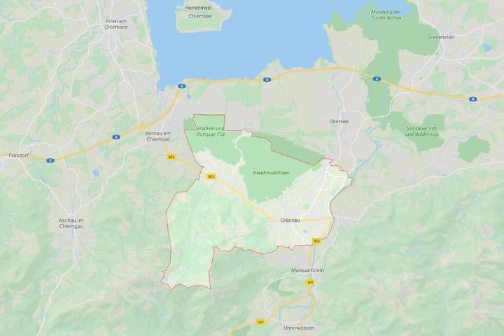 Der tödliche Unfall ereignete sich auf der B305 bei Grassau.