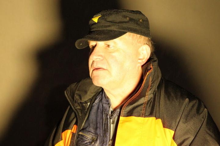 Sprengmeister Andreas West war für die Entschärfung verantwortlich.