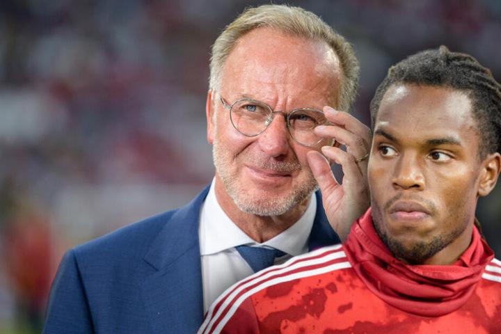 Karl-Heinz Rummenigge, Vorstandschef vom FC Bayern, hat eine klare Meinung zu Renato Sanches Beschwerde. (Bildmontage)