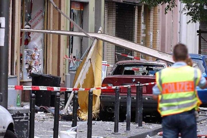 In der Keupstraße war am 9. Juni 2004 eine Nagelbombe explodiert, 22 Menschen wurden teils schwer verletzt.