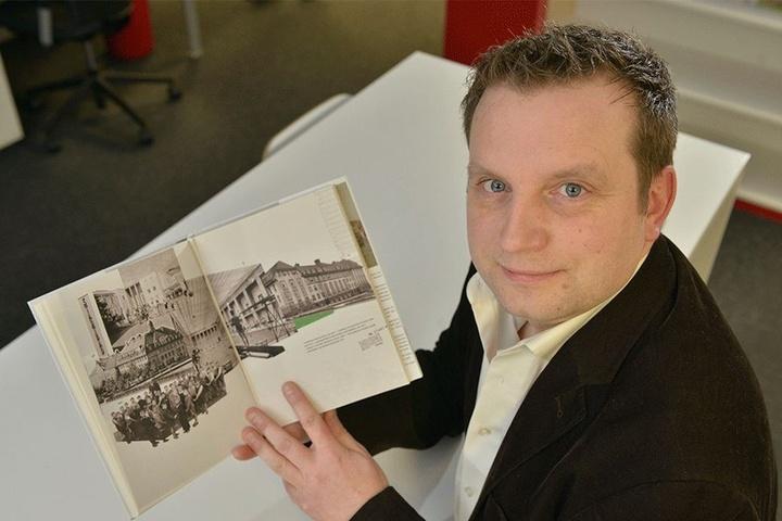 Christian Wobst (38) sammelt Spenden für die Autobiografie.
